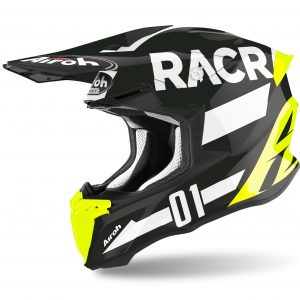 Casco motocross y enduro airoh twist 2.0 racr 2020